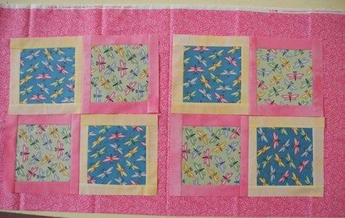 DSCN6819 layout pink sashing